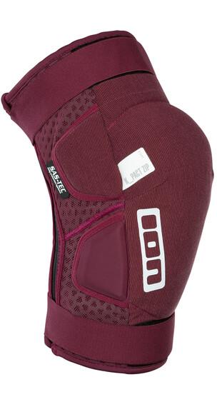 ION K-Pact Zip Knee Protectors combat red
